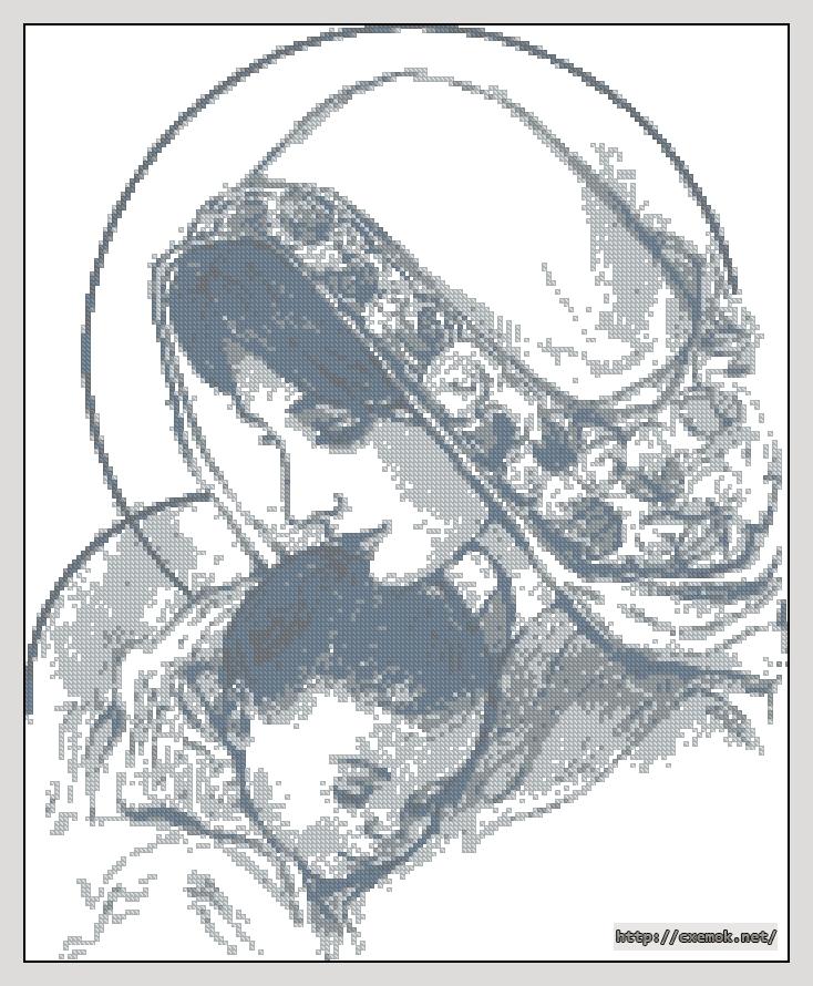 Дева мария с младенцем173x212