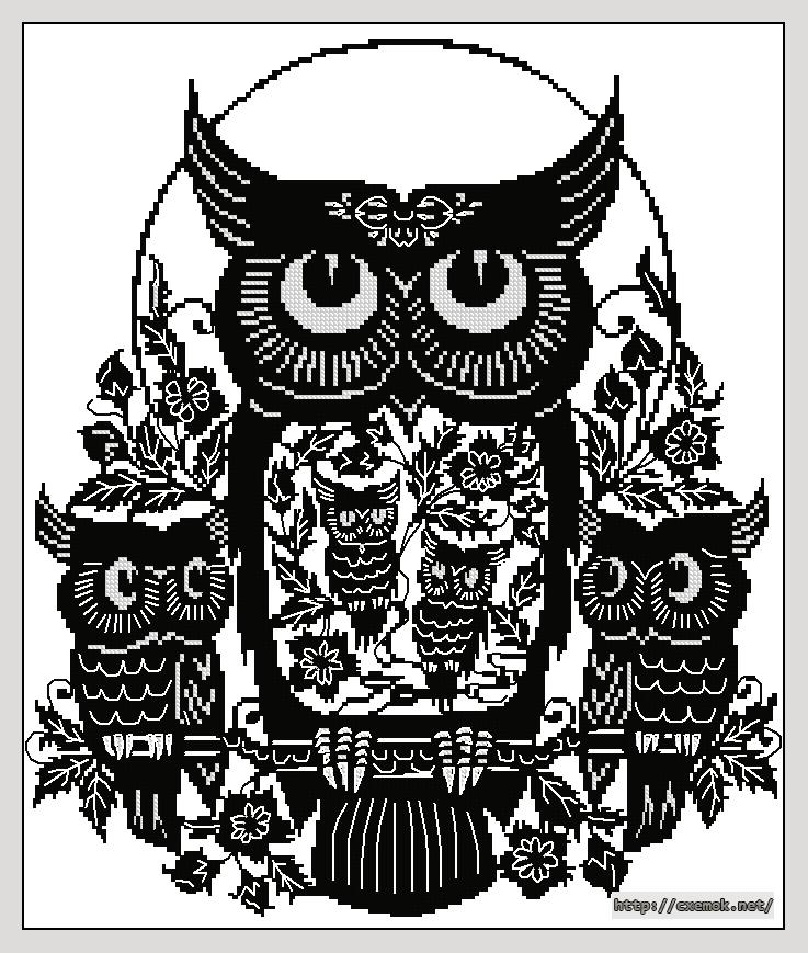 Five owl174x207 крестов2
