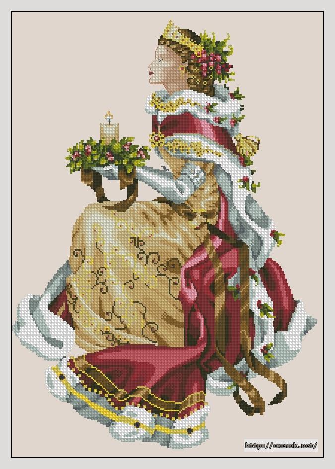 """Сачать схему вышивки """"Royal"""