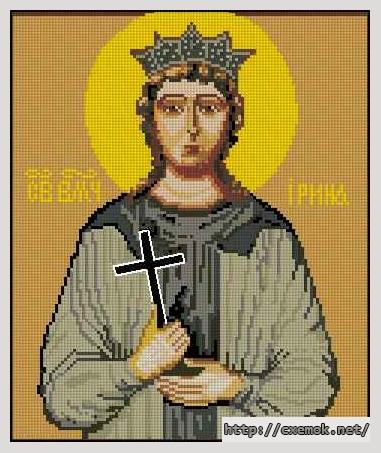 Святая ирина120x144 крестов21