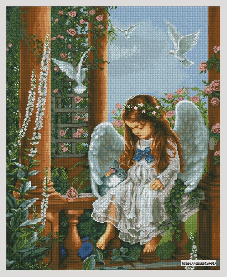 скачать инструкцию вышивки тень ангела