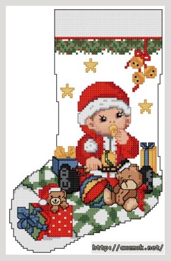 Рождественский сапожок81x127