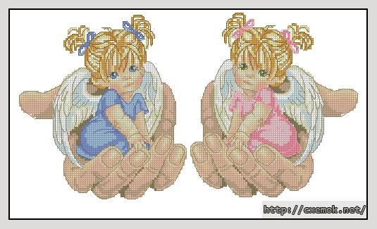 Ангелочки в руках160x88