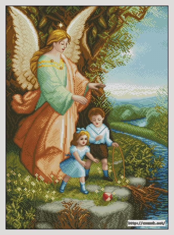 Ангел хранитель и дети160x220