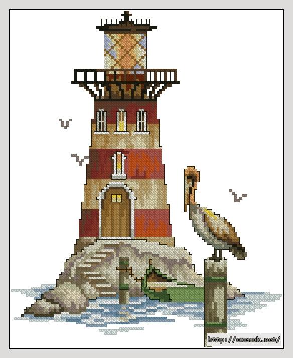 "Маяк "" гнездо пеликана""110x136"