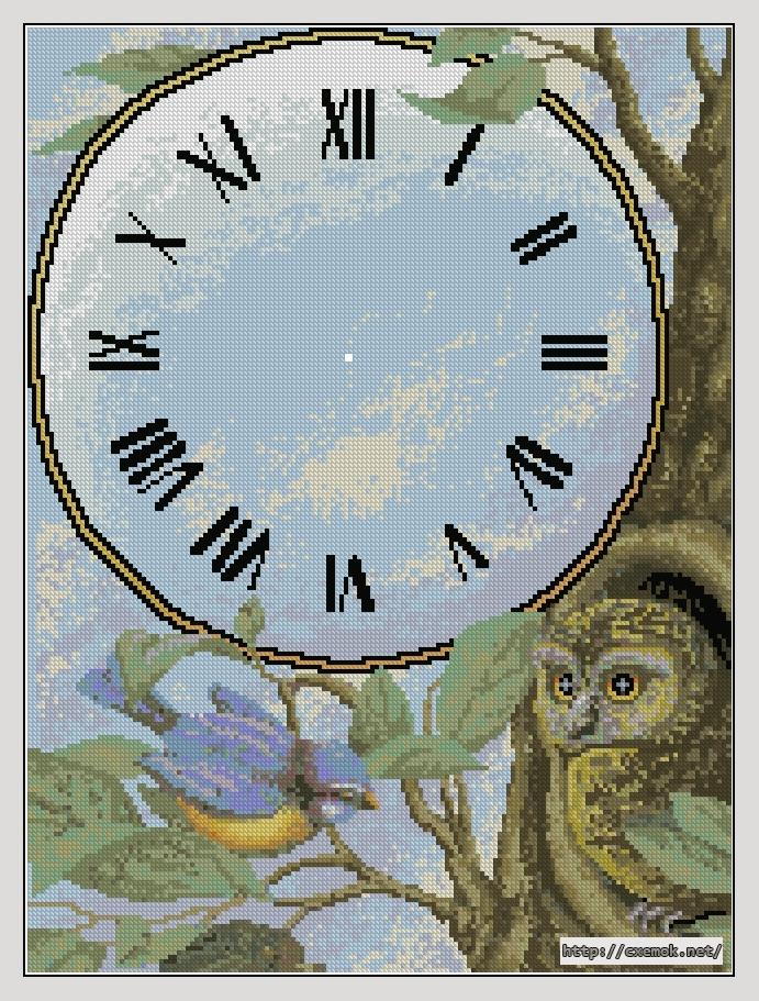 Часы-филин162x217 крестов38