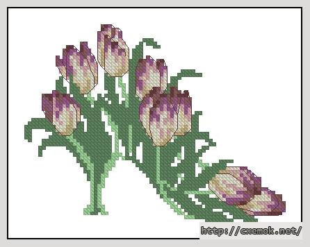 Туфелька-тюльпан85x67