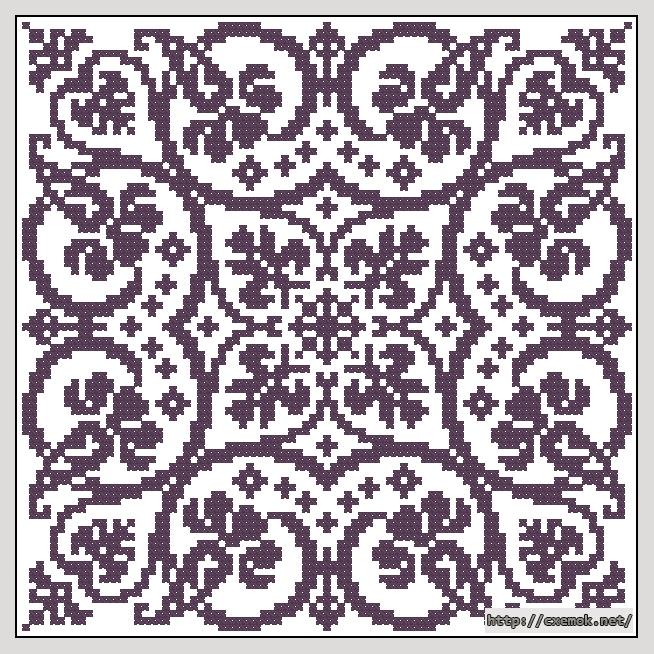 Cхемы схема вышивки бисером