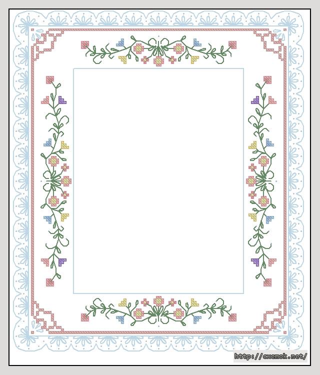 Photo frame121x143 крестов14