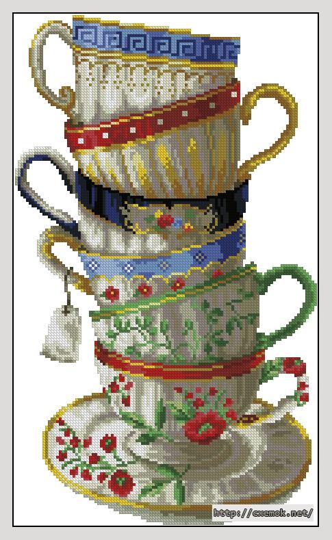Чайные чашки112x188 крестов29