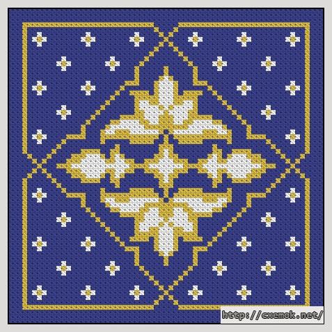 Орнамент65x65 крестов3 цветов