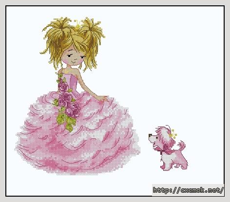 Принцесса с собачкой119x108