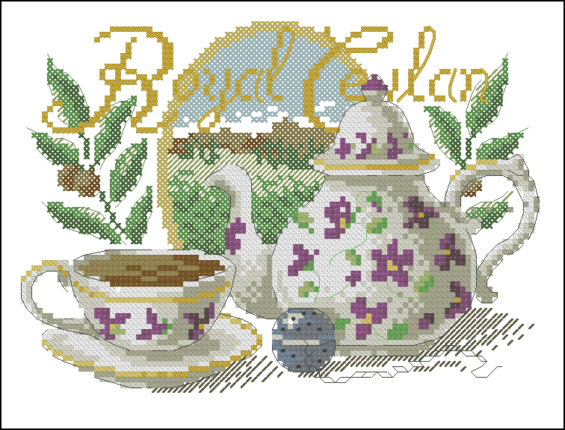 Royal ceylan108x81 крестов22