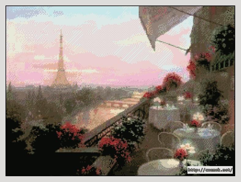Париж250x186 крестов78 цветов