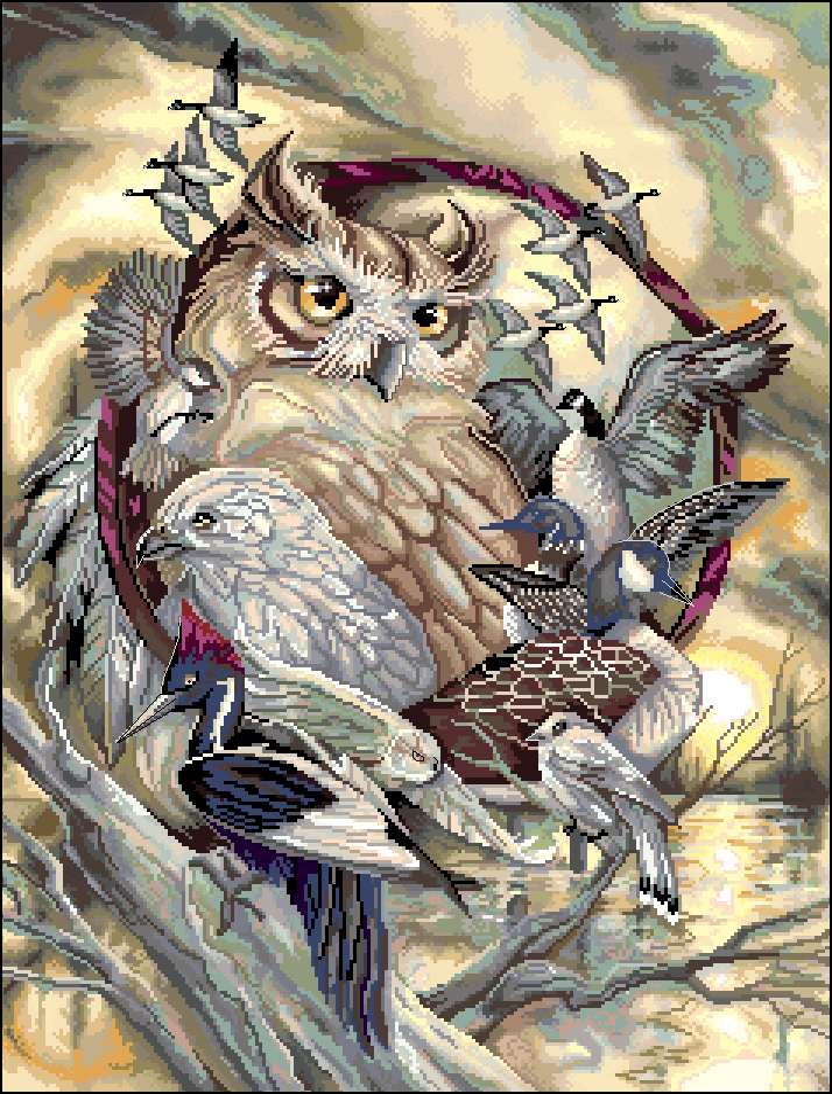 Птичий совет238x318 крестов51