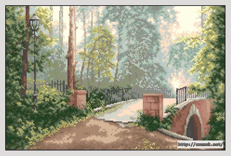 Мост в старом парке237x156