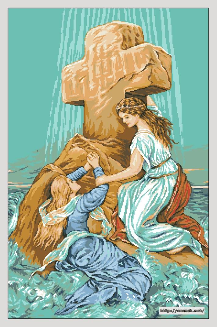 Любовь и вера вышивка 457
