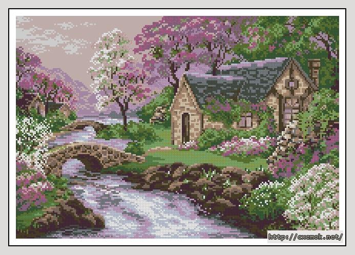 Весенний пейзаж210x145