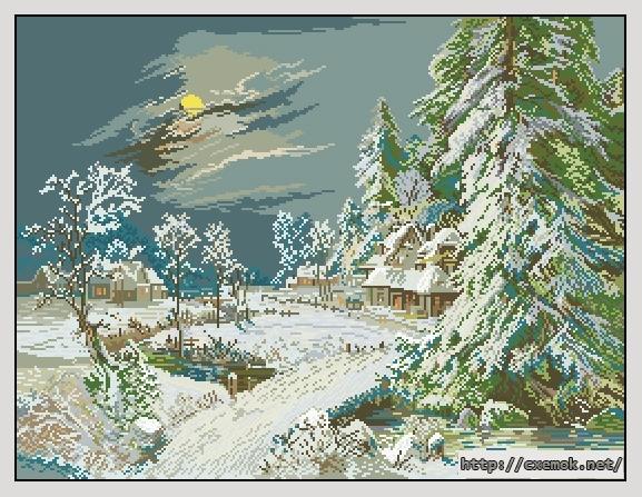 Winter night275x210 крестов34